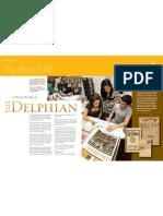 The Delphian Adelphi_Mag Fall 2008