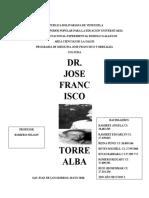 Analisis de Jose Francisco Torrealba