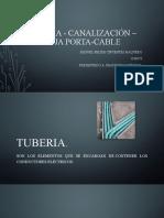 Tubería - Canalización – Bandeja Porta-cable