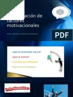 Tema 2 Identificación de factores motivacionales