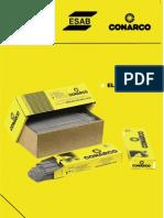 Catalogo de electrodos ESAB COMARCO