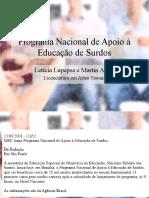 Programa Nacional de Apoio à Educação de Surdos