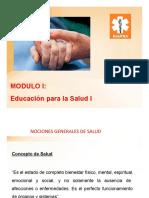 1 Educacion para la Salud I