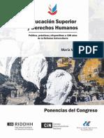 Libro_ponencias Educación Superior y Derechos Humanos