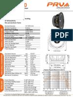 PRV-Audio-12MR2000-Datasheet