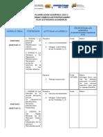 DGSA SINTESIS Plan de Clases 2020-2 PENITRENCIARISMO