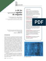 05 Tratamiento de los episodios agudos de migraña