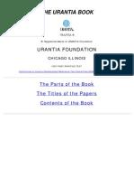 The Urantia Book (Public Domain)