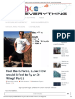 Feel the G Force, Luke_ How would it feel to fly an X-Wing_ Part 2 - Science Over Everything