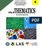 Mathematics 8 - WK1