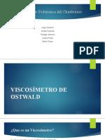 Grupal Viscosimetro de Ostwald