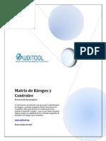 273163379 Matriz de Riesgos y Controles de Un Proceso de Inventarios
