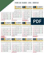 Template Kalender 2021 Masehi Format - PDF by massiswo