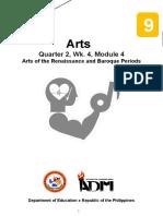 Arts9_Q2_Mod4_RenaissanceBaroque_Version2