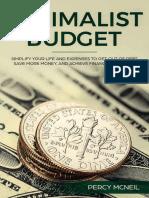 Percy McNeil - Minimalist Budget