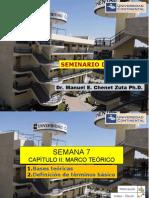 SEMANA 7 CAPITULO II BASES TEÓRICAS