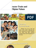 5 Character Traits and Filipino Values