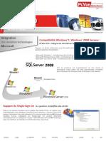 PcVue 9.0. What s New_ Intégration Des Dernières Technologies Microsoft. Compatibilité Windows 7, Windows 2008 Serveur