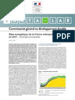 L3 - 2 DOCA - bilan-energetique-france-en-2017-avril2018