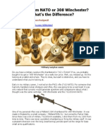 7.62 x 51mm vs .308 Winchester - Redgwell