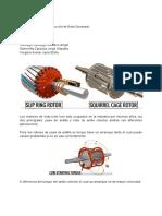 Maquina de induccion de rotor devanado