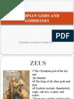 Olympian Gods and Goddesses