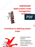 BSBPMG409 PowerPoint Slides V1.0 (1)