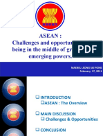 ASEAN - Challenges & Opportunity