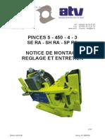Notice de montage et de réglage ATV 3 SH
