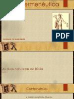 Hermeneutica parte histórica