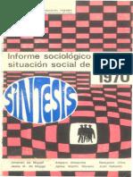 Informe Sociologico 1970 Pequeño Ocr