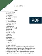 Numero de orden de las cédulas