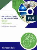 IRES_LIBERALIZAREA PIETEI DE ENERGIE ELECTRICA_SONDAJ DE OPINIE_IANUARIE 2021