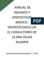 Manual de Insumos y Dispositivos Medico