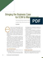 AIM Business Case for ECM