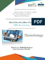 TPE Thermoformage Dorra Borcheni