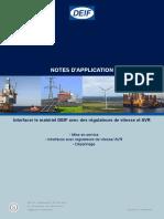 Application notes Interfacing DEIF equipment 4189340670 FR