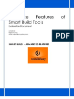 Advance Features of Smart Build and Tools Study