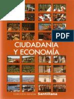 Manual Esencial Santillana, Ciudadania y Economia