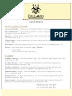 http   bellagioitalianbistro com lunch