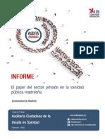 El papel del sectors pivado en la sanidad pública madrileña