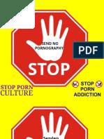 STOP dont send pornography Keine Pornografie Senden