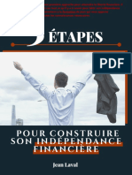 Guide 5 Tapes Pour Construire Sa Libert Financire - Jean Laval PDF