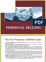 1. Personal Selling-Introduction