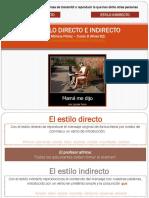 estilo directo_indirecto