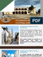 1- Patrimonio Historico-cultural Dominicano