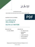 La finance islamique dans le monde