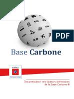 [Base Carbone] Documentation générale v11.5