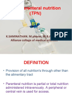 TOTAL PARENTERAL NEUTRITION