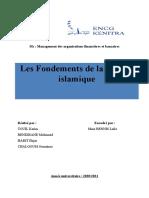 Les fondements de la finance islamique (1)